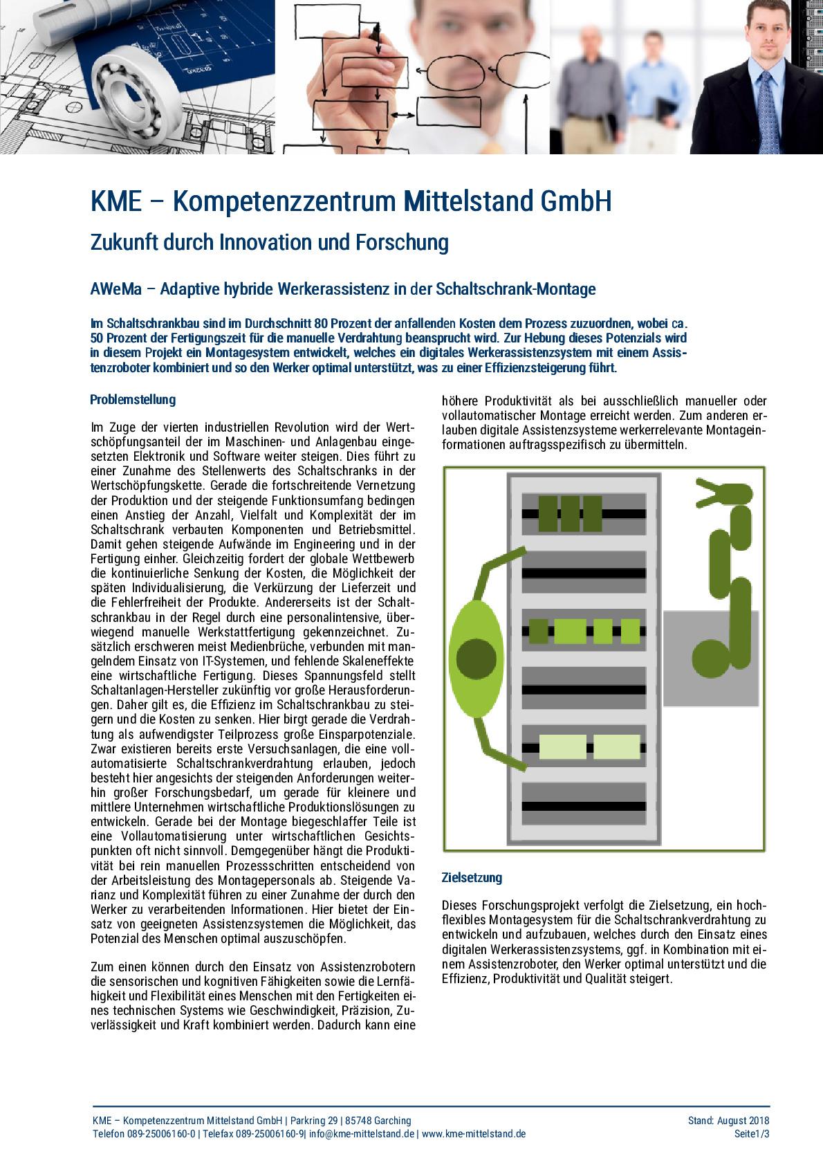 KME: Forschungsprojekte